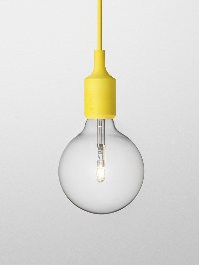 Светильник Muuto E27 yellow от Roomble