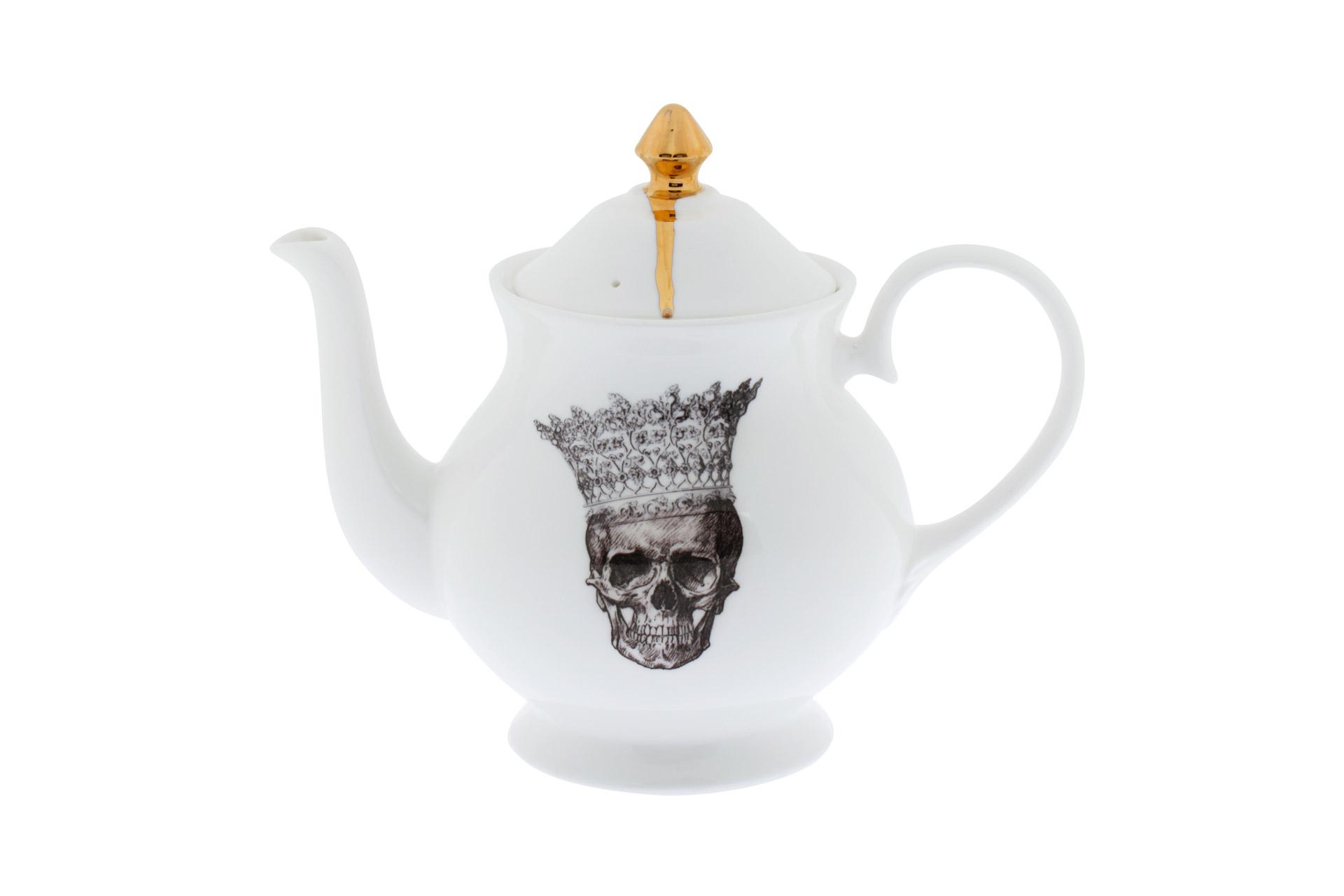 Чайник Melody Rose Skull in Crown от Roomble