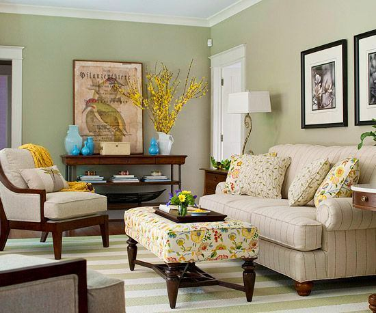 Гостиная, холл в цветах: светло-серый, белый, коричневый. Гостиная, холл в .
