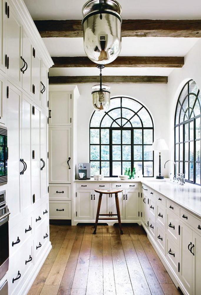 Кухня в цветах: бирюзовый, серый, светло-серый, белый. Кухня в .