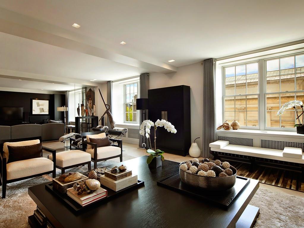 Гостиная, холл в цветах: черный, серый, светло-серый. Гостиная, холл в стилях: этника, эклектика.