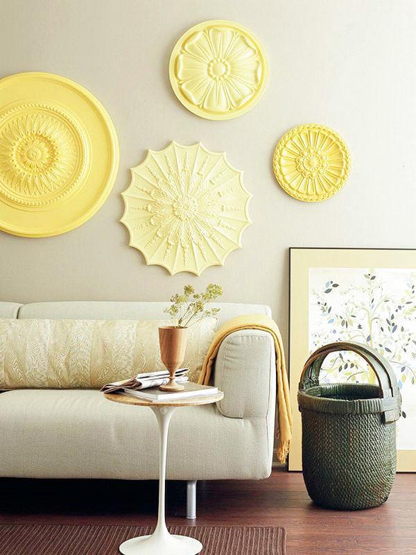 Мебель и предметы интерьера в цветах: светло-серый, белый, лимонный. Мебель и предметы интерьера в стилях: скандинавский стиль.