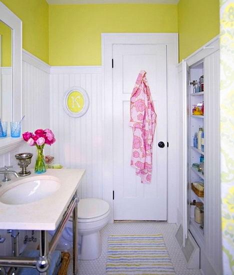 Мебель и предметы интерьера в цветах: желтый, белый. Мебель и предметы интерьера в .