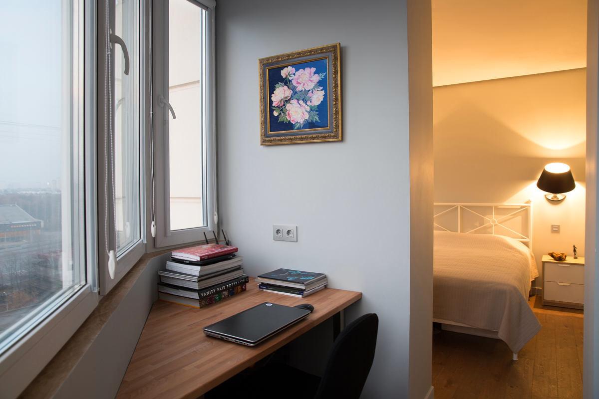 Балкон, веранда, патио в цветах: желтый, серый, светло-серый, бежевый. Балкон, веранда, патио в стиле минимализм.