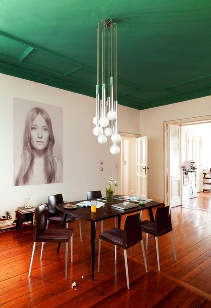 Мебель и предметы интерьера в цветах: желтый, серый, светло-серый, белый, темно-зеленый. Мебель и предметы интерьера в стилях: модерн и ар-нуво.