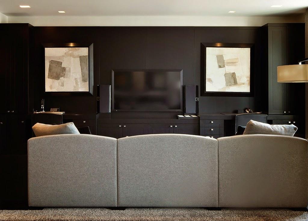 Гостиная, холл в цветах: черный, серый, светло-серый, коричневый. Гостиная, холл в стилях: этника, эклектика.