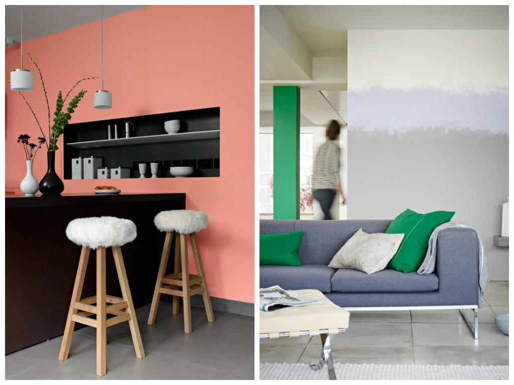 Гостиная, холл в цветах: красный, черный, серый, светло-серый, бежевый. Гостиная, холл в стилях: минимализм.
