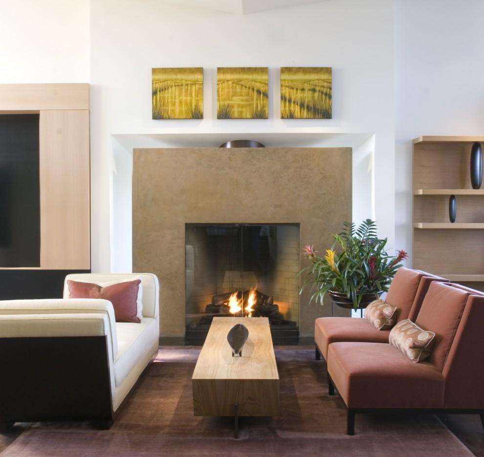 Гостиная, холл в цветах: черный, серый, светло-серый, коричневый, бежевый. Гостиная, холл в стиле минимализм.