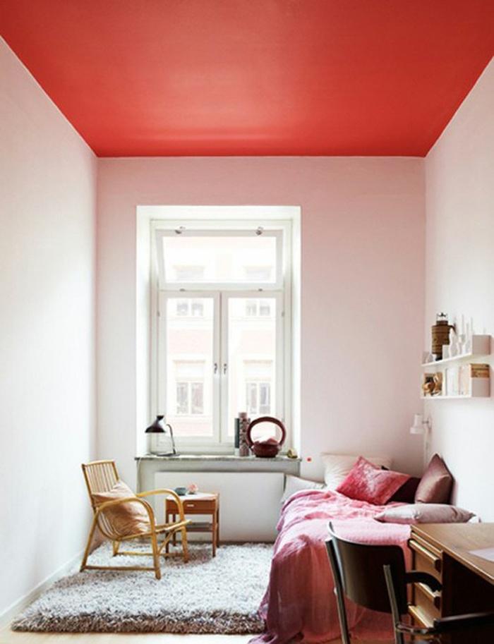 Спальня в цветах:  Бежевый, Белый, Бордовый, Красный, Светло-серый. Спальня в стиле:  Минимализм.